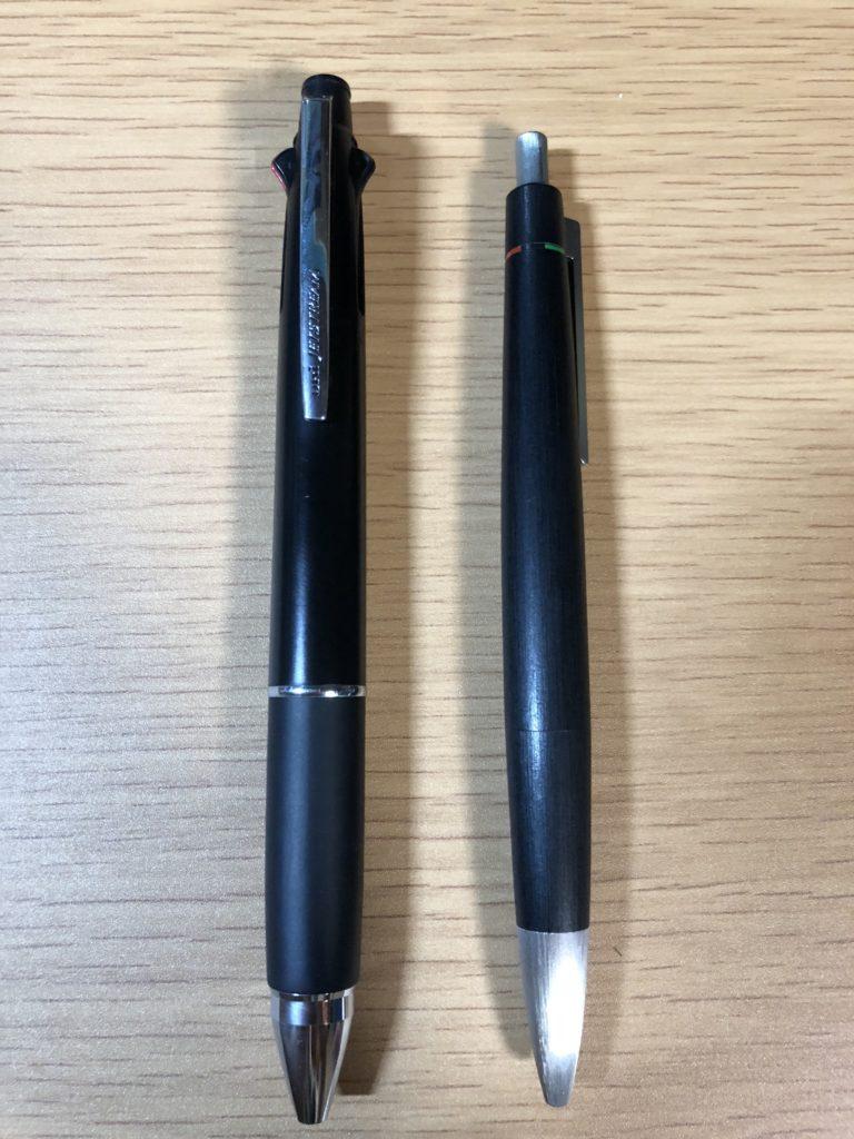 ジェットストリームとLAMY4色ボールペン