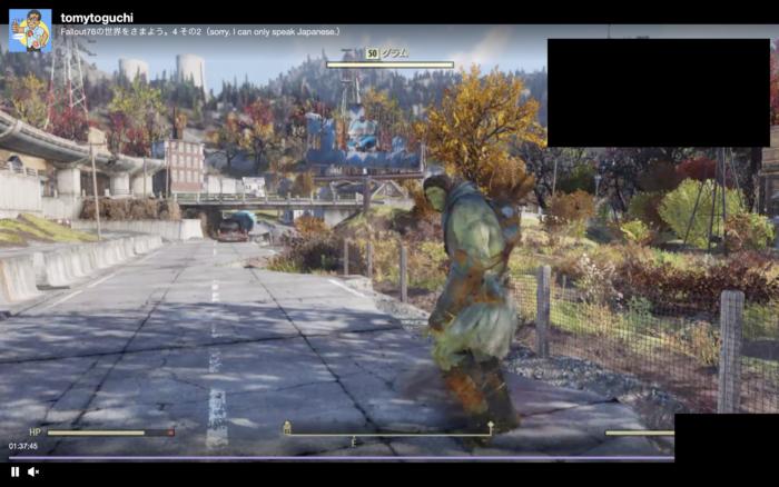 Fallout76取引可能NPC
