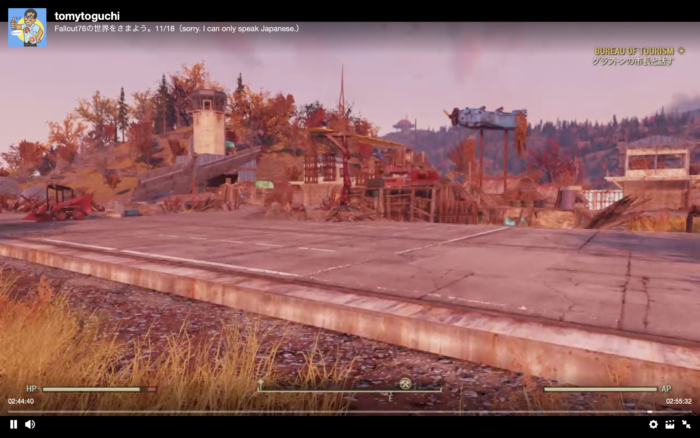 Fallout76ワークショップ