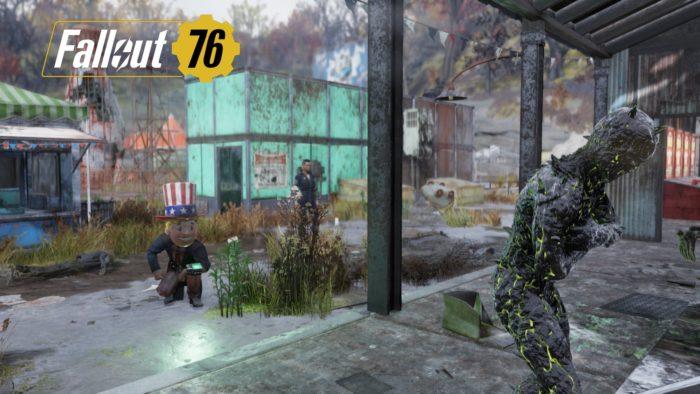 Fallout76 チームプレイ