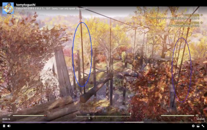 Fallout76 みんなでアスレチックで遊ぼう!