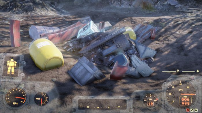 Fallout76 いらないJunkは手放そう