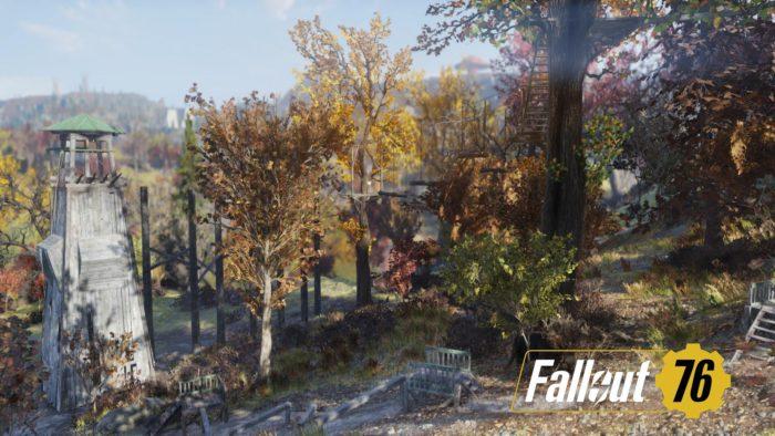 Fallout76 アスレチック