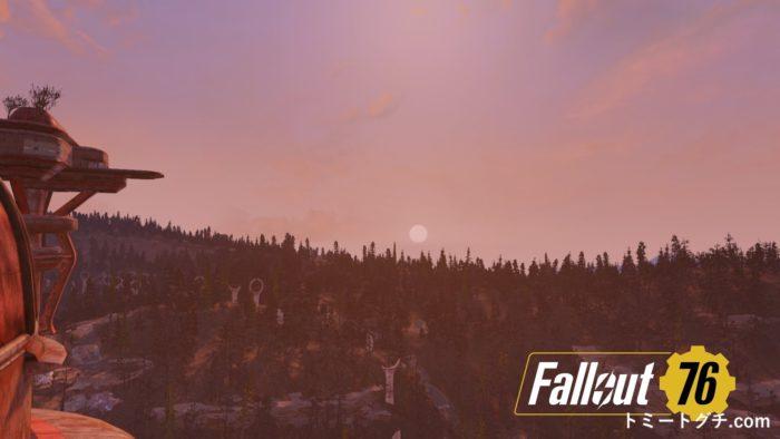 Fallout76 日の出