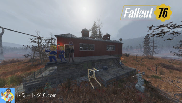 Fallout76 1/24 C.A.M.P.
