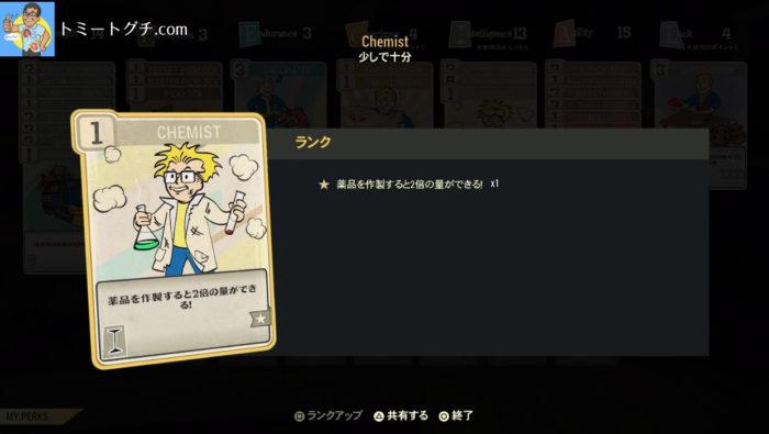 Fallout76 Chemist
