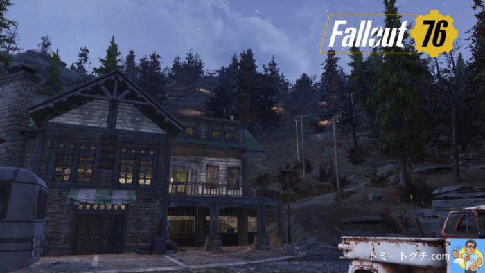 Fallout76 サニートップスキー場