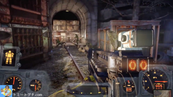 Fallout76 ビッグベンド・トンネル