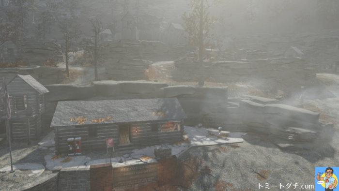 Fallout76 プリケッツ砦