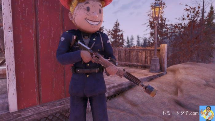 Fallout76 38口径 パイプガン