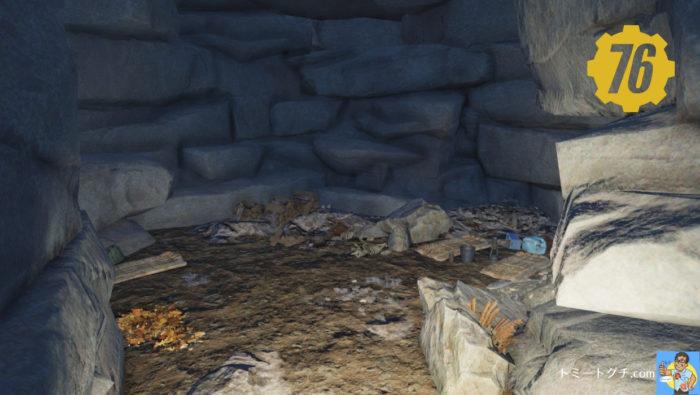 Fallout76 キャンパーの洞窟