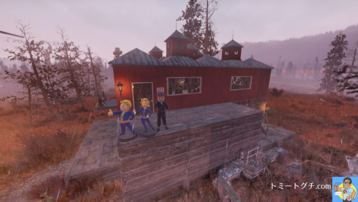 Fallout76 ワトガ キャンプ
