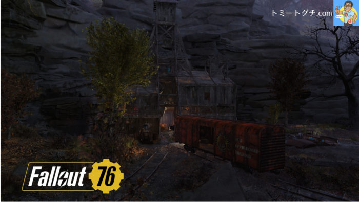 Fallout76 ゴーリー鉱山