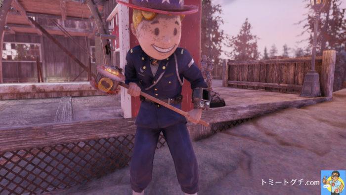 Fallout76 スレッジハンマー