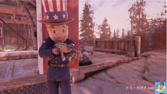 Fallout76 ハンドメイドライフル