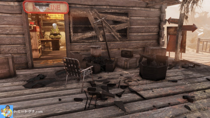 Fallout76 ウェルチ駅