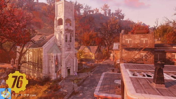 Fallout76 フラットウッズ