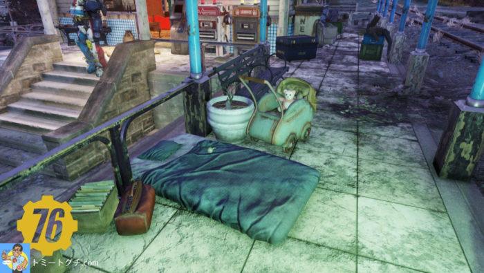 Fallout76 ホワイトスプリング駅