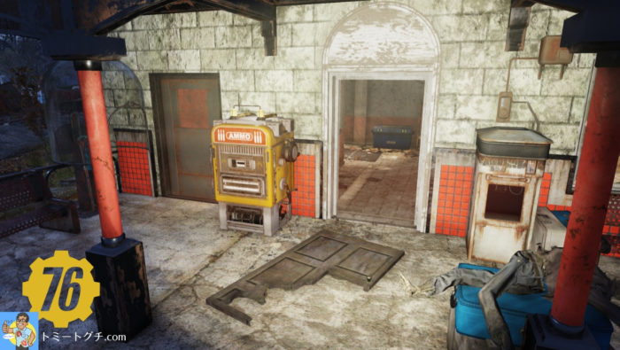 Fallout76 モーガンタウン駅