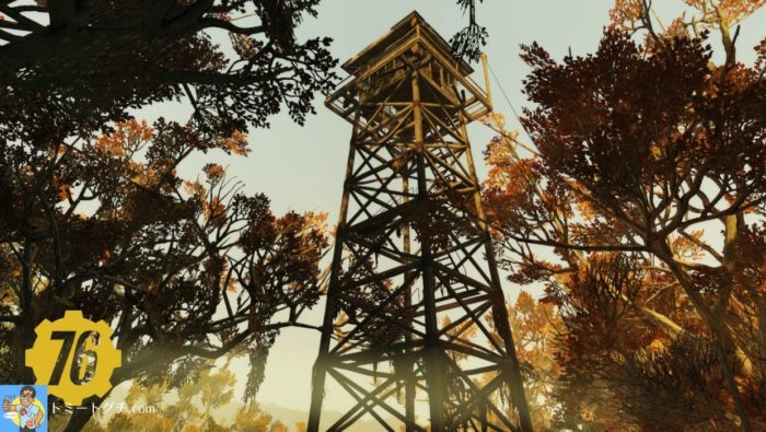 Fallout76 ドリー・ソッズ自然公園