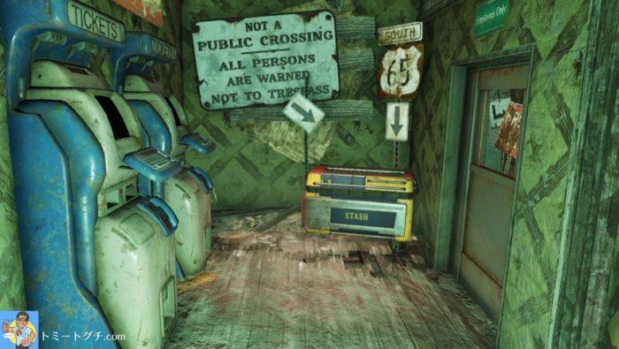 Fallout76 バークレー・スプリングス駅