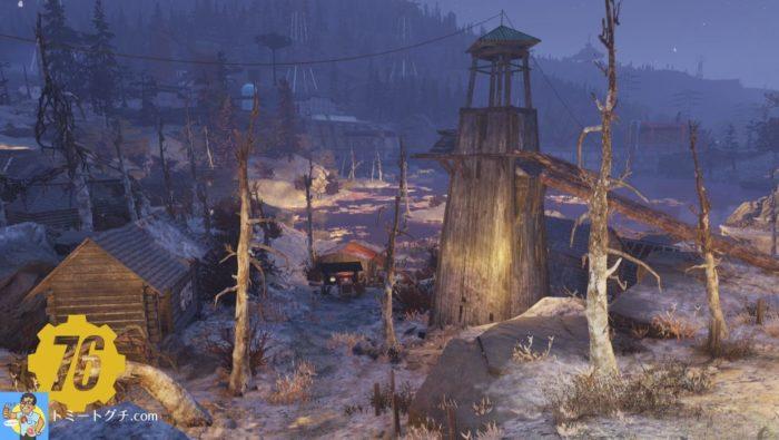 Fallout76 毒の峡谷