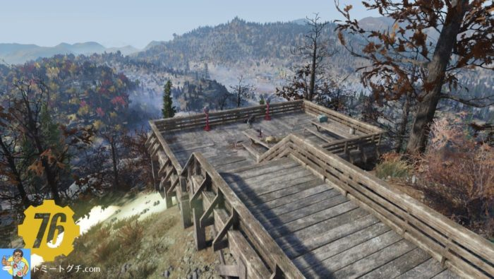 Fallout76 モノンガー観測所