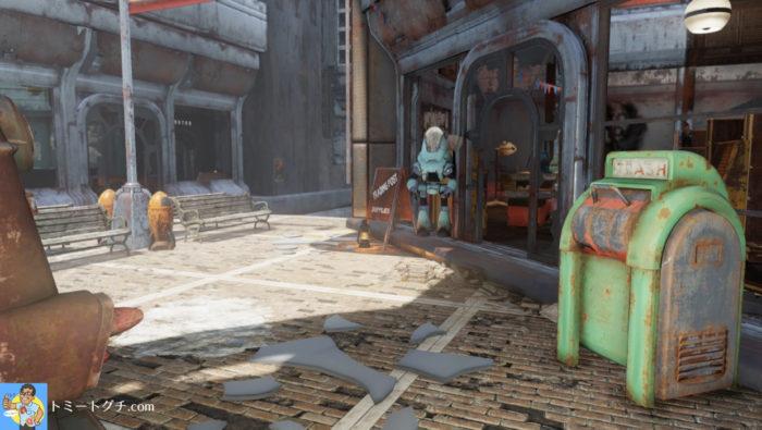 Fallout76 ワトガショッピングモール