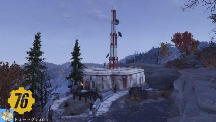 Fallout76 中継タワー