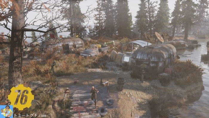 Fallout76 荒れた境域