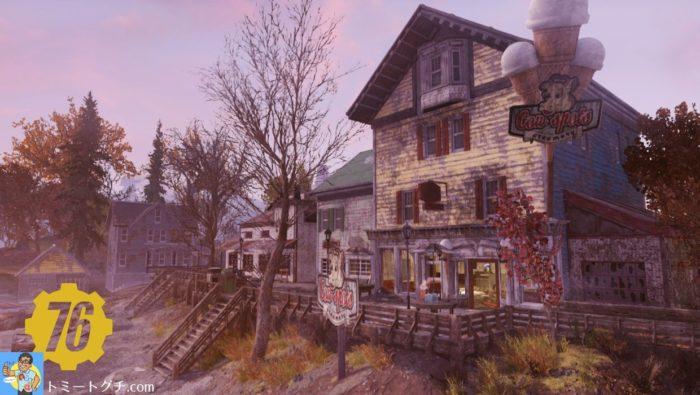 Fallout76 森林地帯