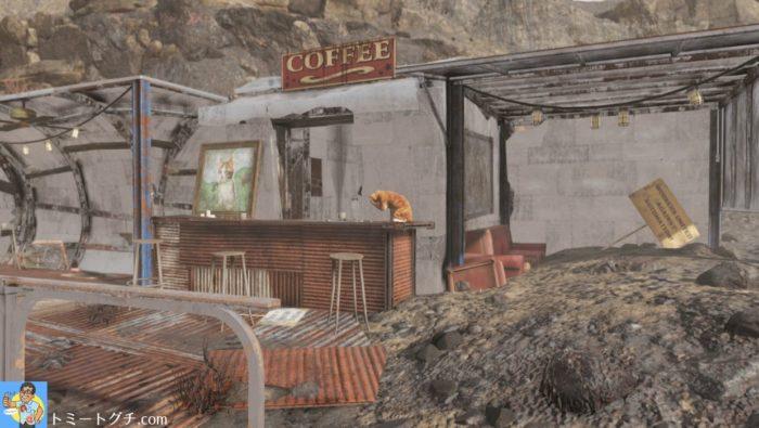 Fallout76 ネコカフェウェルチ店