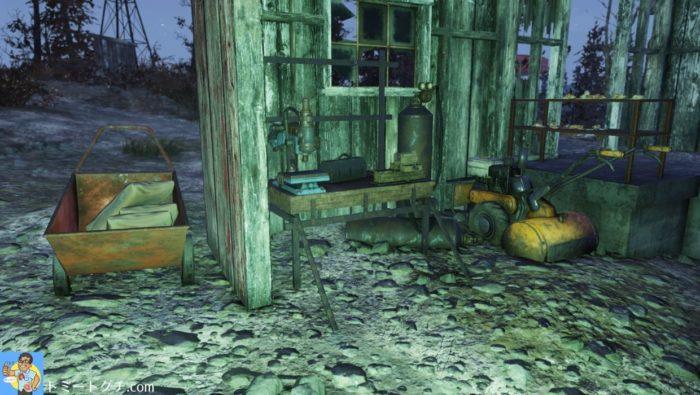 Fallout76 ベックウィズ農場