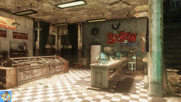 Fallout76 モスマン・ミュージアム