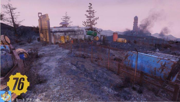 Fallout76 積灰の山
