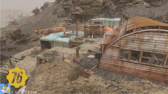 Fallout76 放棄された鉱山シャフト・エレイン