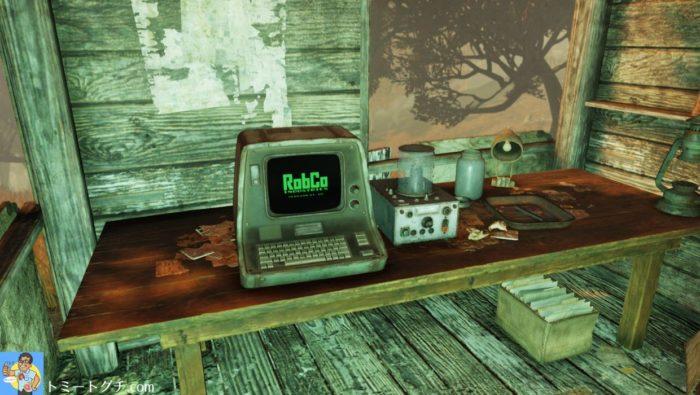 Fallout76 狩人の小屋