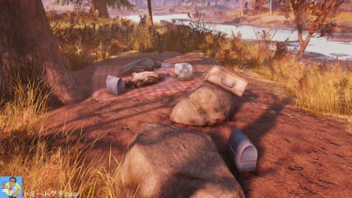Fallout76 デスクロー・アイランド