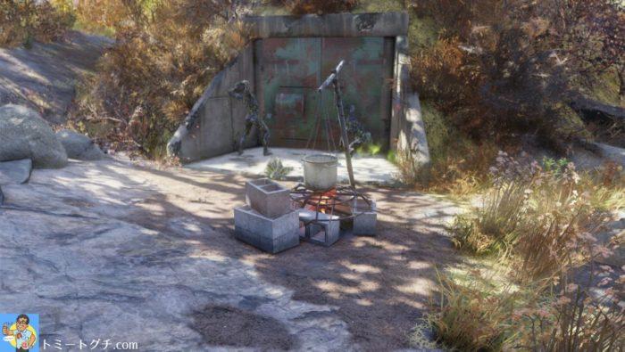 Fallout76 ブラックマウンテン兵器工場 ドーム5