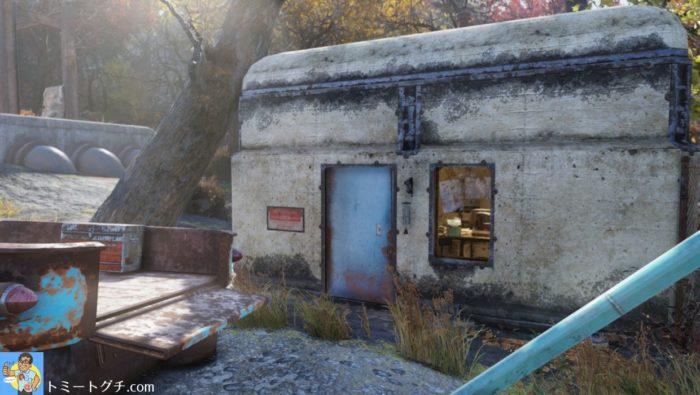 Fallout76 ブラックマウンテン兵器工場