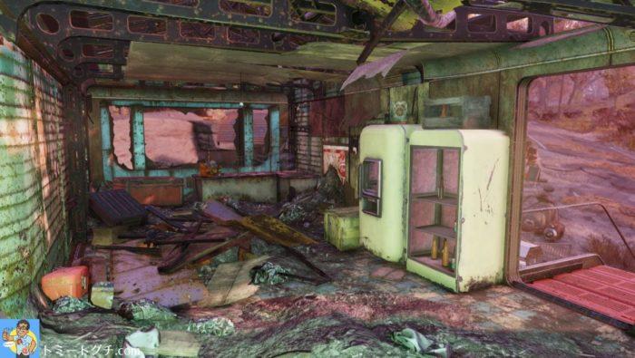 Fallout76 レディ・ジャネットのソフトクリーム店