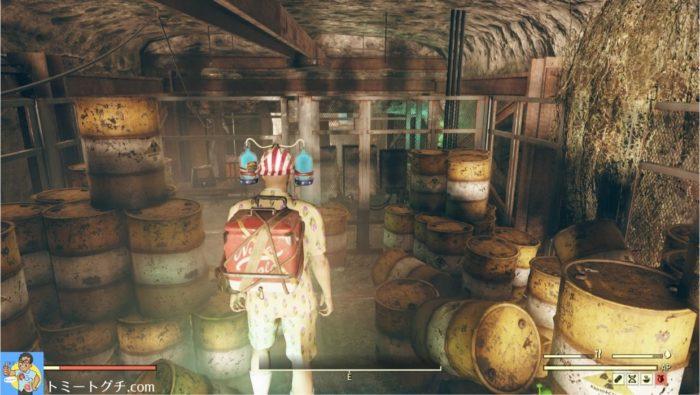 Fallout76 放棄された廃棄物投棄場