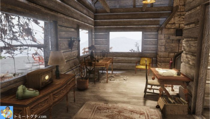Fallout76 オータム・エーカー・キャビン