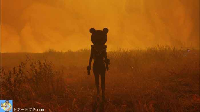 Fallout76 カリスマのクマ