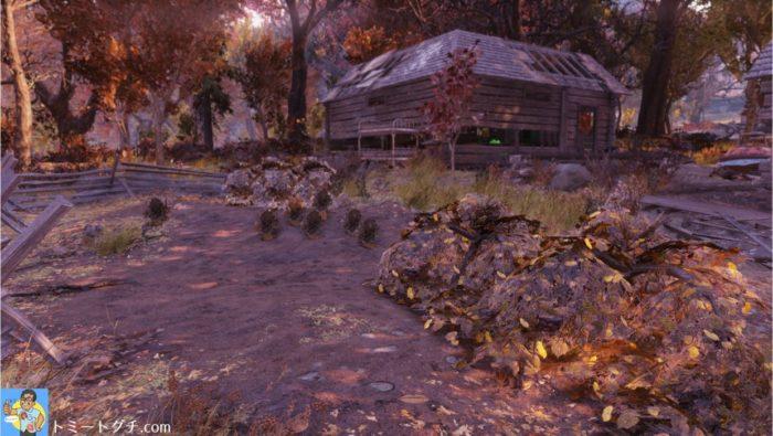Fallout76 グローブス家のキャビン