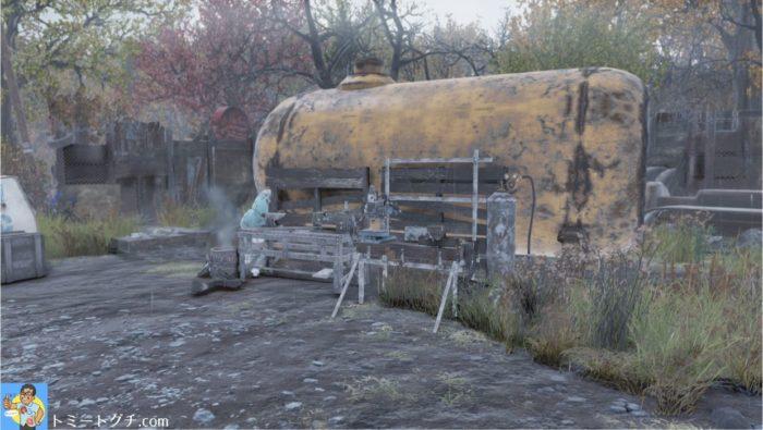 Fallout76 名も無き廃品置き場