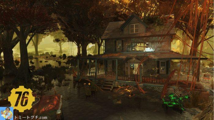 Fallout76 エクセルシオールのモデルホーム