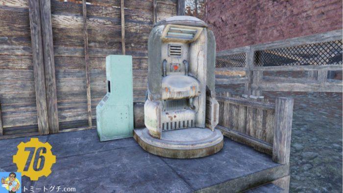 Fallout76 スカベンジャーのコレクトロンステーション