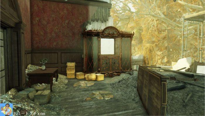 Fallout76 バークレー・スプリングス城