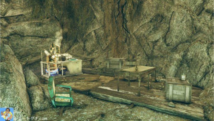 Fallout76 ホークの避難所